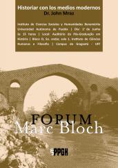 Cartaz da palestra Historiar con los medios modernos